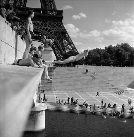 Le-plongeur-du-Pont-d-Iena,Paris