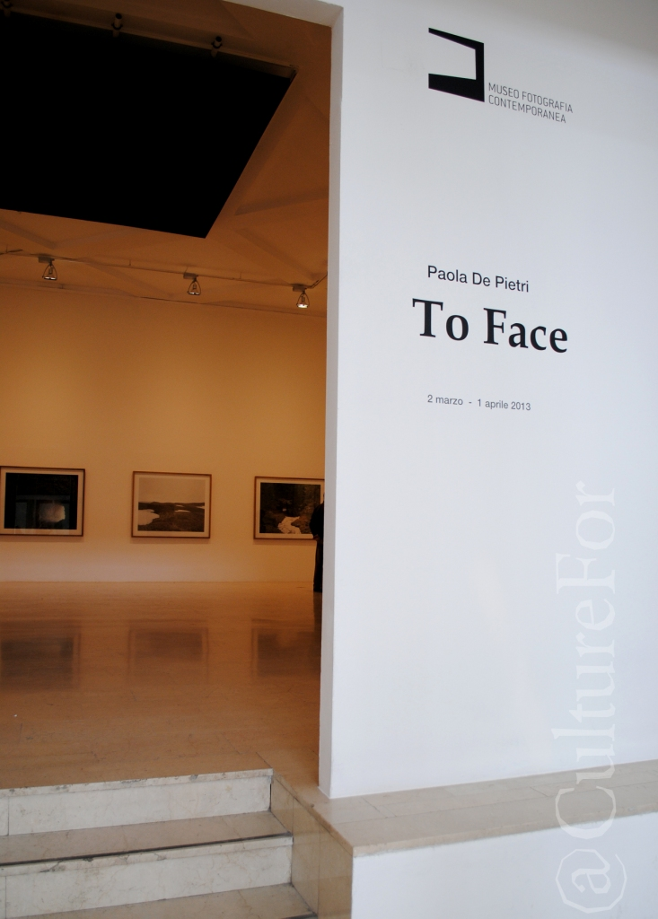 Mostra To face Paola de Pietri @Triennale