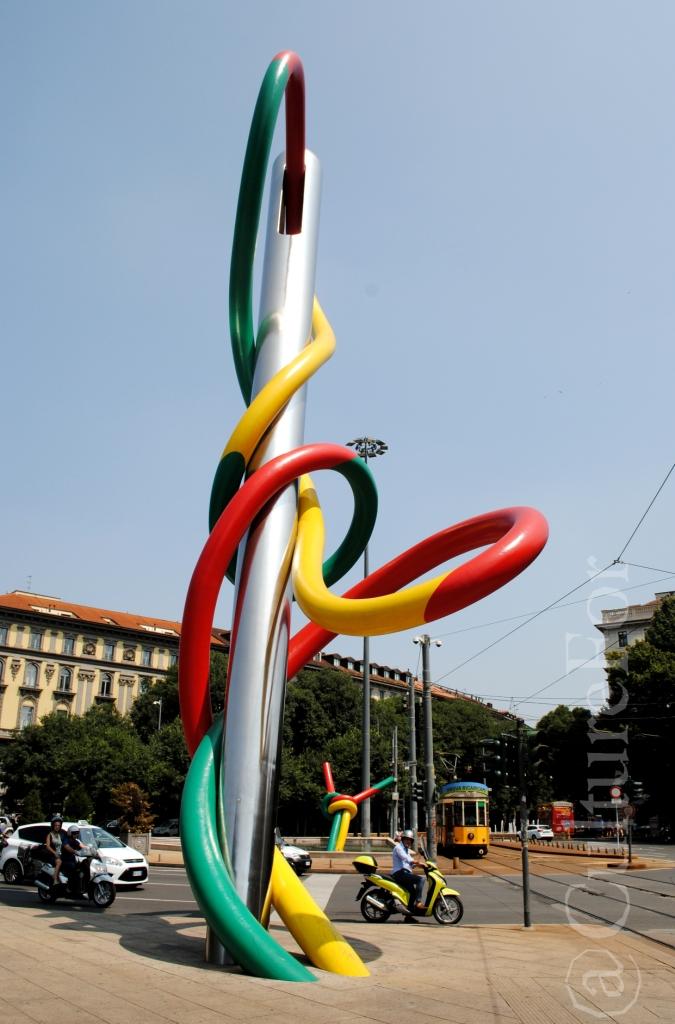 Ago, Filo e Nodo @Piazzale Cadorna, Milano_www.culturefor.com