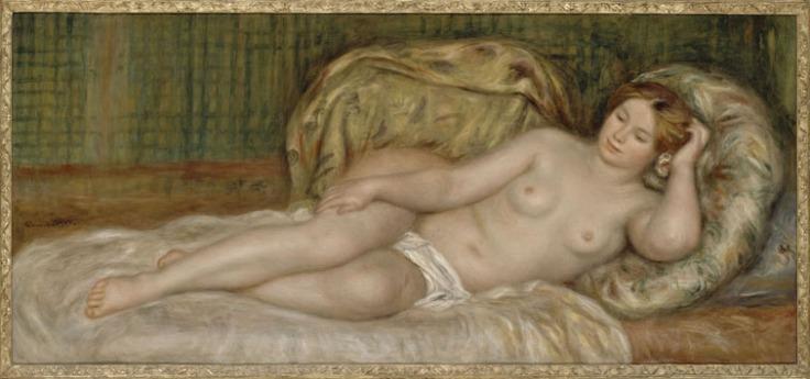 19. RENOIR Grande nudo