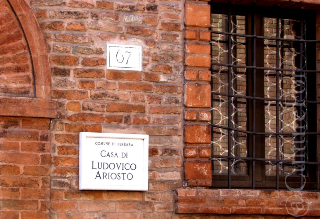 Casa di Ludovico Ariosto @Ferrara _www.culturefor.com