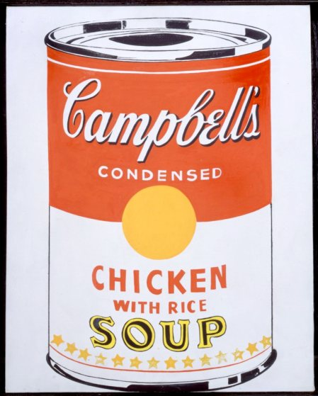 Campbell's Soup Can Chic