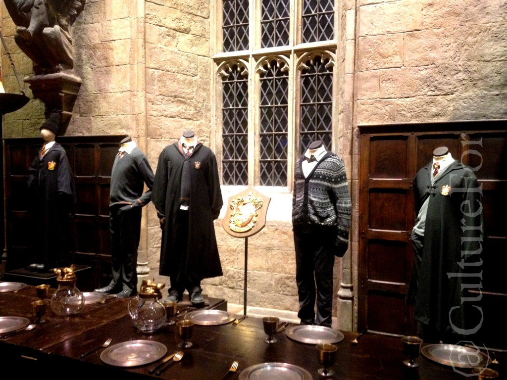 The making of harry potter warner bros london culture for - A tavola con harry potter ...