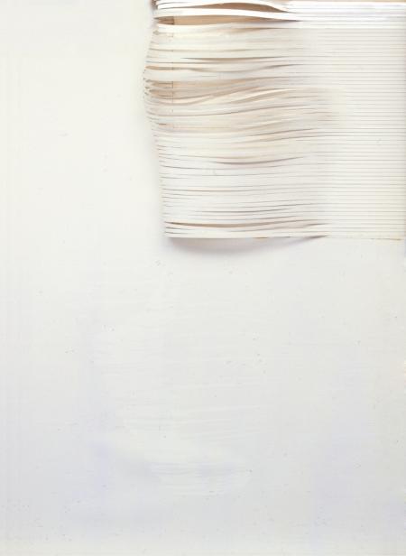 Bianco, 1977 tecnica mista 70x50 cm