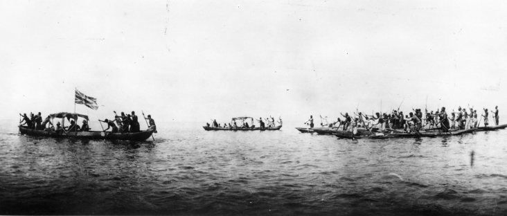 Naval Africa Expedition returning via Bangwelo Lake