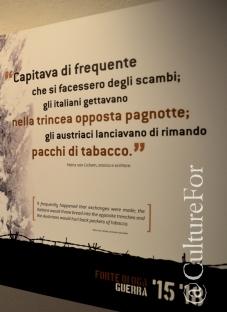 Il Forte Venini @Oga, Valtellina _ www.culturefor.com
