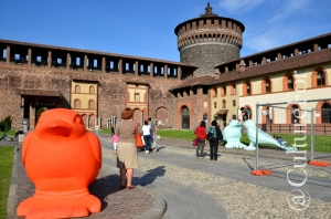 Nido di Rondini @Castello Sforzesco, Milano _ www.culturefor.com