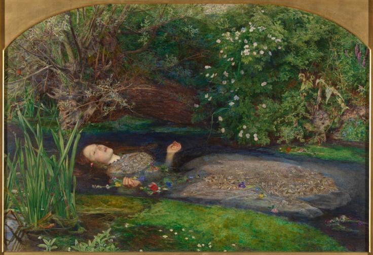 John Everett Millais, 1829-1896 Ofelia 1851-52 Olio su tela, cm 76,2 x 111,8 Donato nel 1894 da Sir Henry Tate ©Tate, London 2014