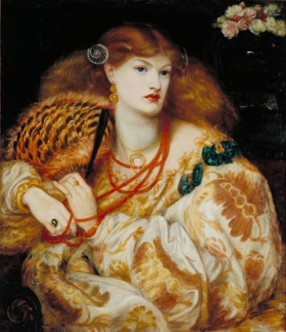 Dante Gabriel Rossetti (1828‐82) Monna Vanna 1866 Olio su tela, cm 88,9 x 86,4 Acquistato nel 1916 attraverso l'Art Fund il sostegno di Sir Arthur Du Cross e di Sir Otto Beit ©Tate, London 2014