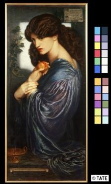 Dante Gabriel Rossetti (1828‐1882) Proserpina 1874 Olio su tela, cm 125,1 x 61 Donato nel 1940 da W. Graham Robertson ©Tate, London 2014