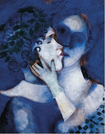 Gli amanti in blu, 1914_Marc Chagall