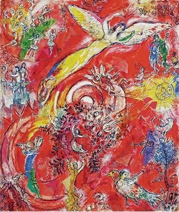 Il trionfo della musica_Marc Chagall