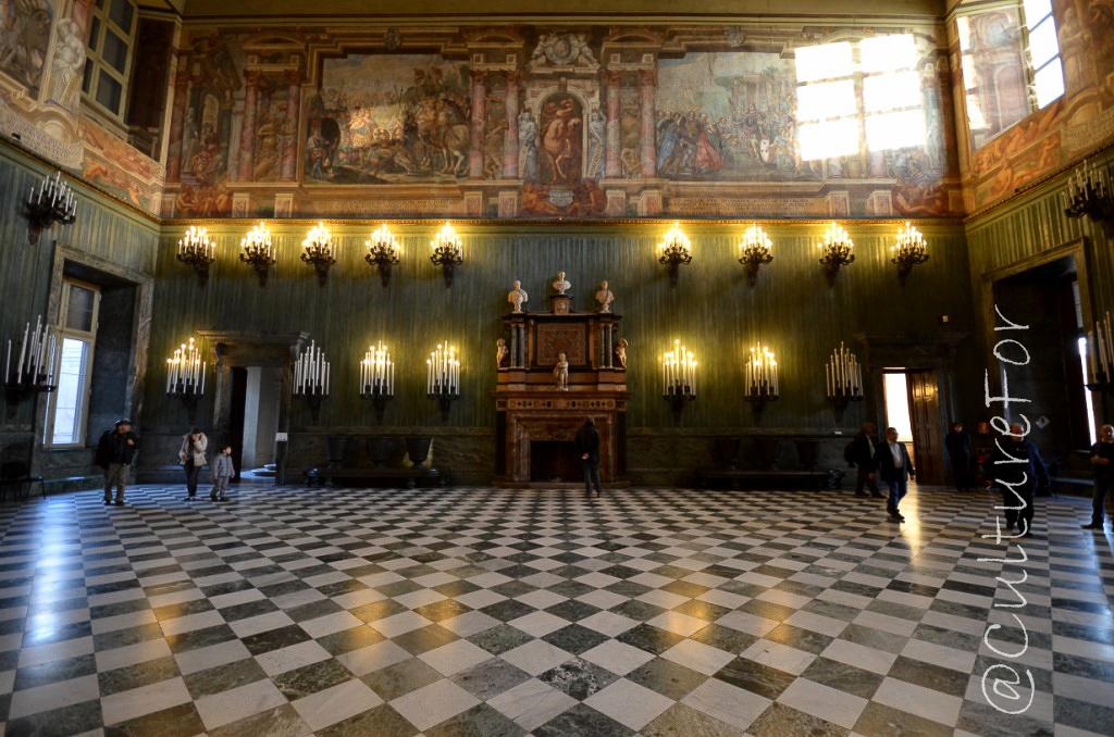 Palazzo reale torino culture for for Planimetrie del palazzo con sala da ballo