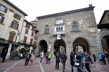 La città di Bergamo Alta _ www.culturefor.com