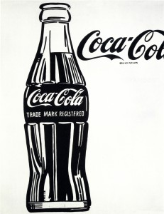 Andy Warhol (American, 1928–1987), Coca-Cola (3), 1962, casein on canvas. Crystal Bridges Museum of American Art, Bentonville, Arkansas. © 2015 The Andy Warhol Foundation for the Visual Arts, Inc. / Artists Rights Society (ARS), New York