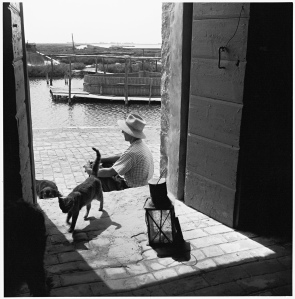 Pietro Donzelli, Delta del Po, anni Cinquanta
