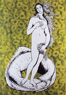 5 - Stefano Fioresi,Tortellino-L'ombelico di Venere.100x70
