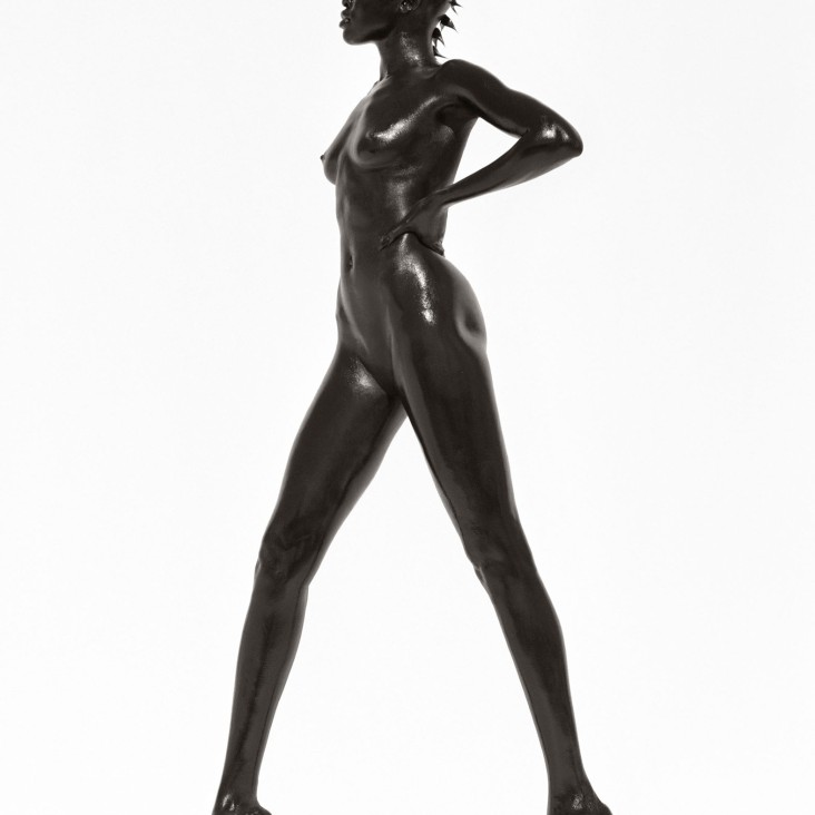 Alek Wek, Los Angeles 1998