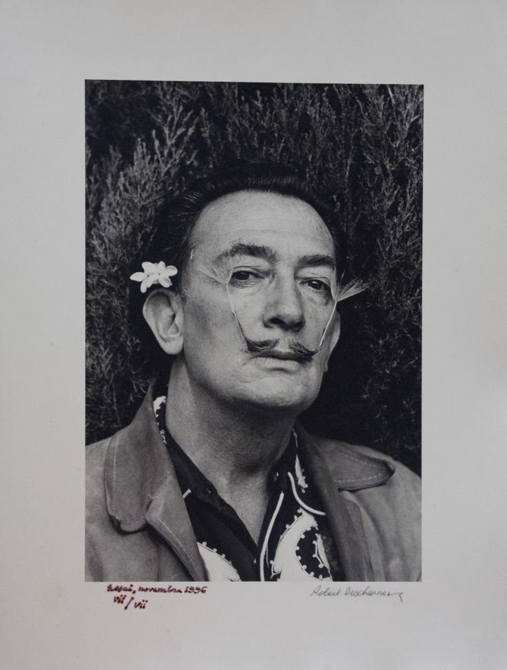 Robert Desharnes, Dalì au Jasmin, fotografia, 30x40 cm