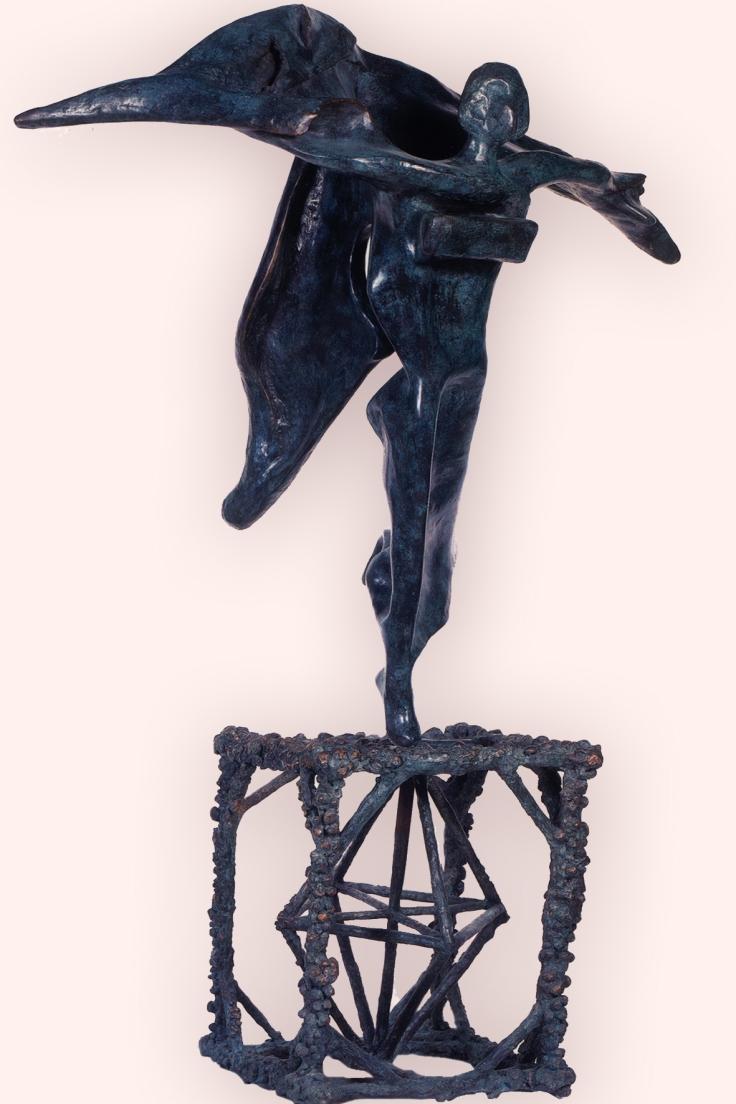 Salvador Dalì, Gala Gradiva, scultura in bronzo