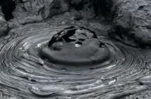 giappone area geotermica beppu fango e gas di origine vulcanica