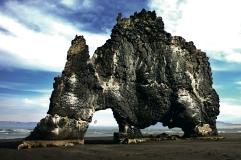 islanda hvitserkur