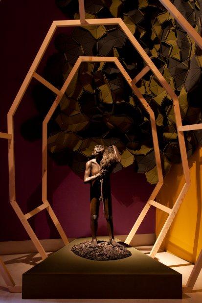 Homo floresiensis Modello di Lorenzo Possenti © Photo Sveva Bellucci