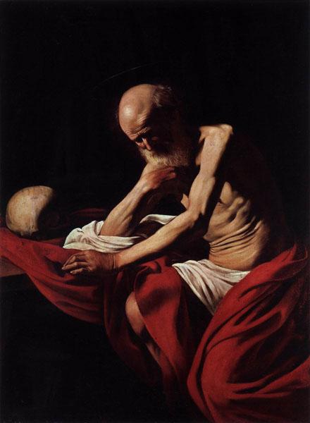 04. CARAVAGGIO San Girolamo penitente