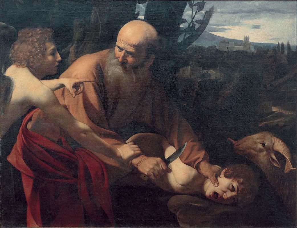 08. CARAVAGGIO Sacrificio di Isacco