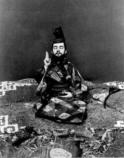 02. Lautrec strabico in abito giapponese