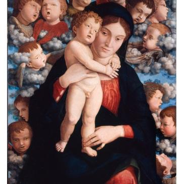 05.Mantegna_Madonna cherubini