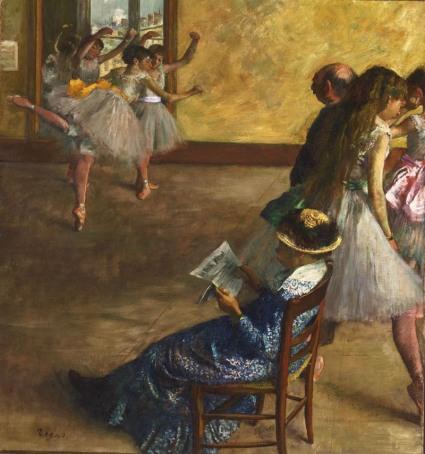 11. Edgar Degas - La classe di danza, ca. 1880