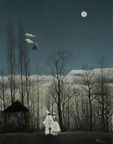 45. Henri Rousseau - Una sera di carnevale, 1886