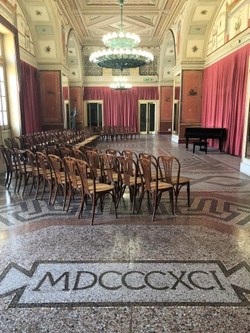Sala Rossa - Teatro Politeama - Palermo
