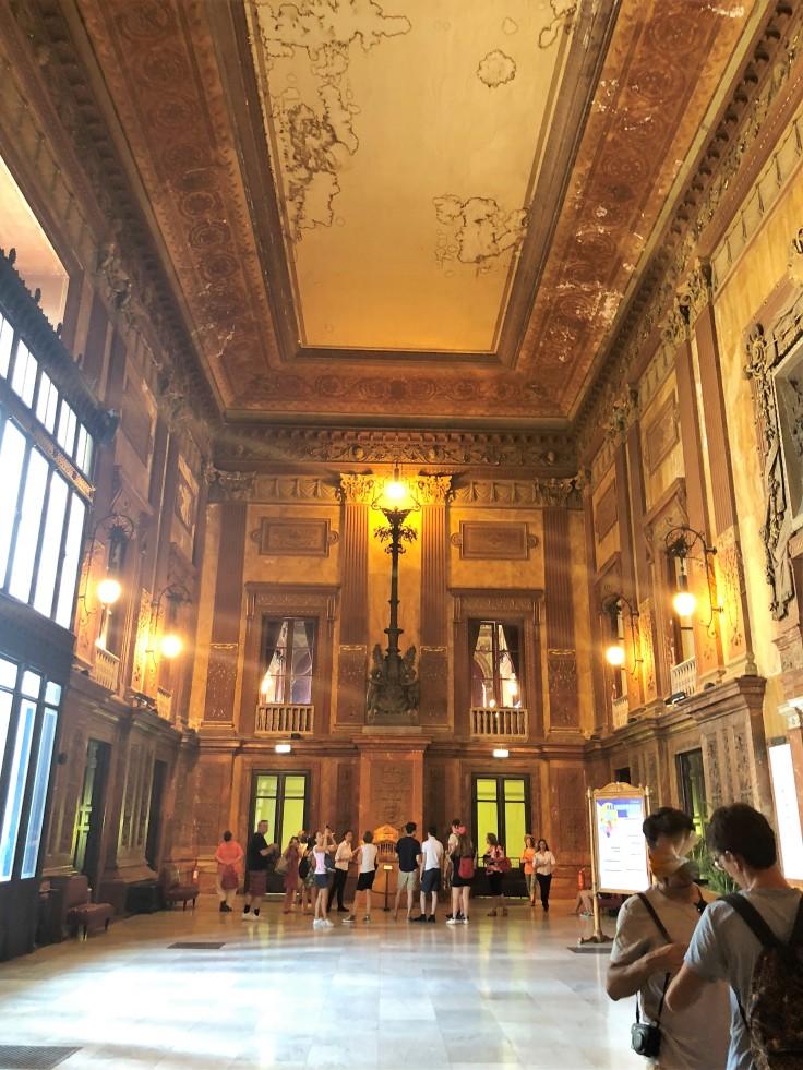 Foyer - Teatro Massimo - Palermo